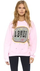 Michaela Buerger Love Sweatshirt Light Pink