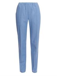 Julien David Relaxed Fit Cotton Trousers