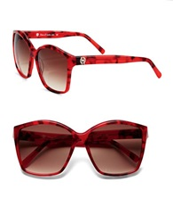 House Of Harlow Jordana 59Mm Square Sunglasses Red