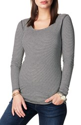 Noppies Women's 'Marit' Reversible Stripe Maternity Tee