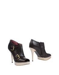 Luxury Rebel Shoe Boots Dark Brown