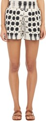 Ace And Jig Tribal Pattern Shorts White