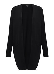 Miss Selfridge Black Slouchy Knitted Cardigan