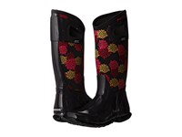 Bogs North Hampton Pom Pons Black Multi Women's Waterproof Boots