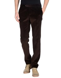 Mp Massimo Piombo Trousers Casual Trousers Men Dark Brown