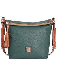 Dooney And Bourke Pebble Small Dixon Crossbody Hunter