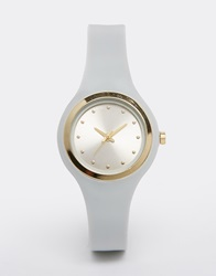 New Look Clean Silicon Watch Grey