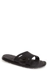Speedo 'Exqueeze Me' Slide Sandal Men Black Dark Grey