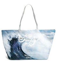 Stussy New Wave Shopper Bag Bluesilver