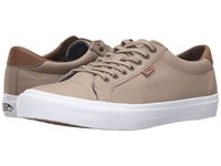 Vans Court Candl Silver Mink True White 2 Men's Skate Shoes Brown
