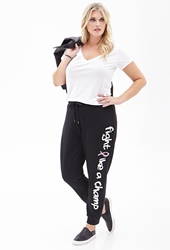 Forever 21 Champ Graphic Sweatpants