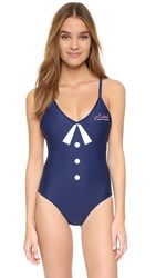 Wildfox Couture Clear Skies One Piece Aviator Blue