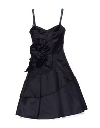 Maria Grazia Severi Dresses Short Dresses Women Dark Blue