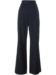 Opening Ceremony 'Focal' Wide Leg Trousers Blue