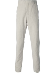Kris Van Assche Slim Fit Chinos Nude And Neutrals
