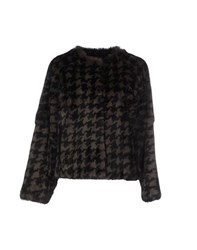 Essentiel Coats And Jackets Fur Outerwear Women