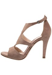 Unisa Walker High Heeled Sandals Tanin Taupe