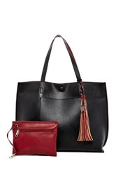 Carlos By Carlos Santana Leslie Tote And Wristlet Black
