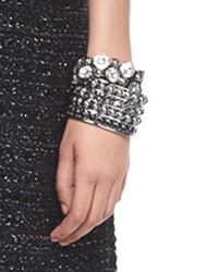Signature Pearly And Crystal Cuff St. John Collection