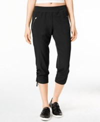 Calvin Klein Performance Cropped Active Pants Black