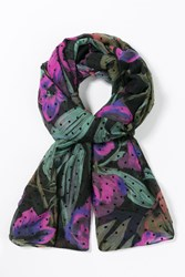 Desigual Aruna Rectangle Scarf Black