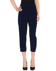 Elie Tahari Casual Pants Dark Blue