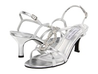 Touch Ups Mindy Silver Metallic Women's Bridal Shoes