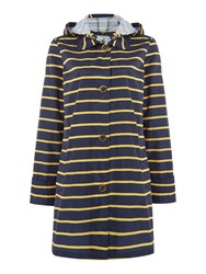 Dickins And Jones Pac A Mac Navy Stripe