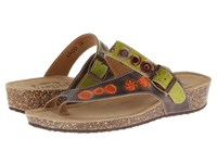 Spring Step Lonian Gray Women's Dress Sandals
