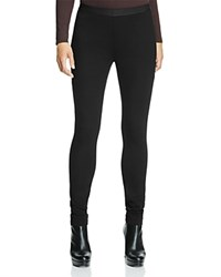 Eileen Fisher Banded Leggings Black