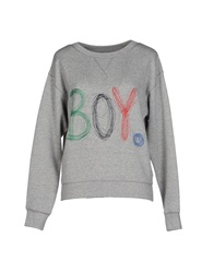 Band Of Outsiders Sweatshirts Light Grey