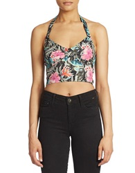 Guess Halter Top Jungle Green