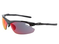 Tifosi Optics Tyrant 2.0 Mirrored All Sport Interchangeable Gloss Black Clarion Red Gt Ec Lens Athletic Performance Sport Sunglasses