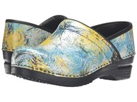 Sanita Original Pro Woodstock Multi Women's Clog Shoes