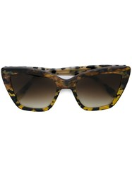 Prism 'Calvi' Sunglasses Brown