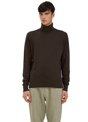 Les Basics Long Sleeved Roll Neck T Shirt Black