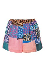 Clover Canyon Mod Poppies Shorts Print