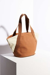 Bdg Galynn Trapeze Tote Bag Brown