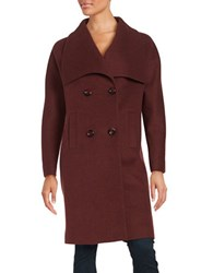 Jones New York Envelope Collar Coat Navajo