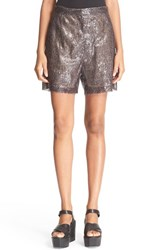 Maison Martin Margiela Women's Mm6 Maison Margiela Sequin Shorts Black