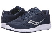 Saucony Ideal Navy Silver Women's Shoes Blue