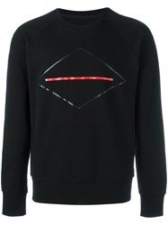 Rag And Bone Symbol Print Sweatshirt Black