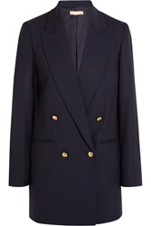 Michael Kors Stretch Wool Gabardine Blazer