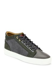 Android Leather Blend Sneakers Grey
