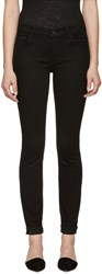 Proenza Schouler Black Ps J5 Ultra Skinny Stretch Jeans