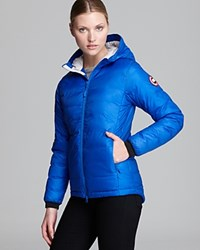 Canada Goose Down Coat Pbi Camp Hooded Lightweight Royal Blue