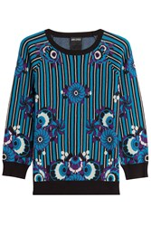 Anna Sui Printed Cotton Pullover Multicolor