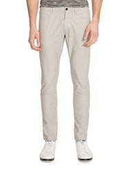Kenneth Cole Slim Flat Front Pants Sterling