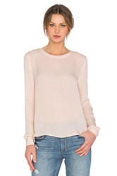 American Vintage Jamestown Long Sleeve Top Blush