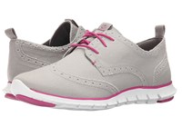 Cole Haan Zerogrand Deconstructed Wingox Paloma Canvas Fuchsia Red Optic White Women's Shoes Gray